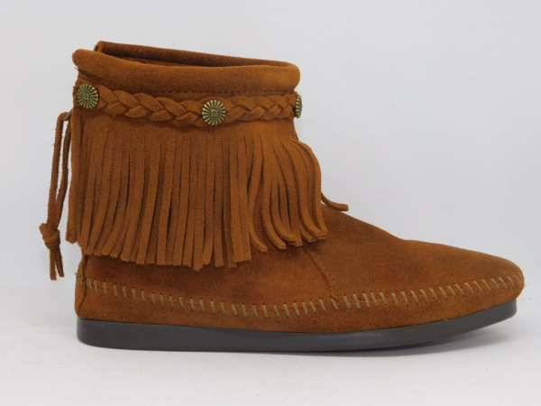 womens boots hi top brown 292