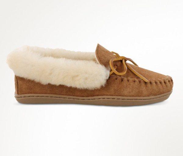 womens slippers alpine sheepskin tan 3371