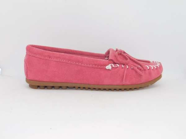 womens mocs kilty pink 401
