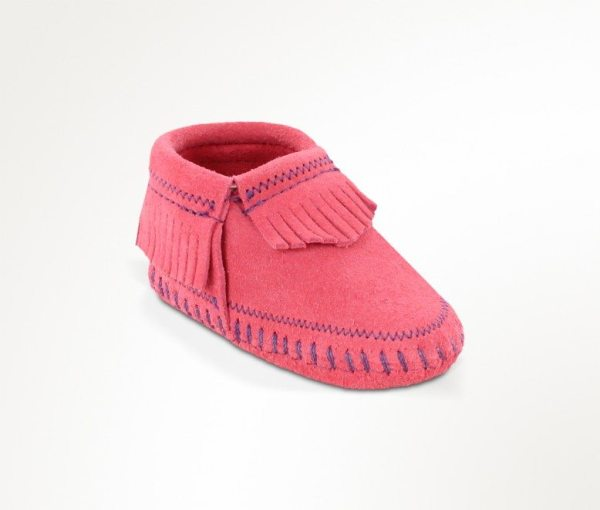 infants boots riley pink 1160