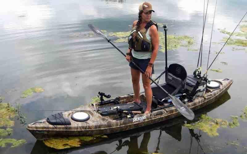 Saltwater kayak fishing gear