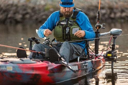 saltwater kayak fishing