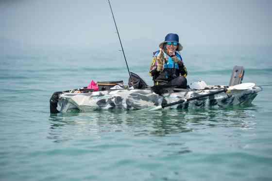 Live well and fishing kayaks