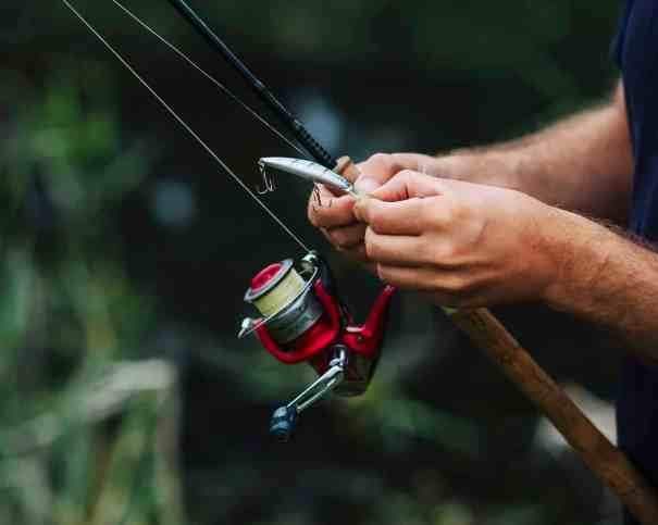 Soaking fishing Line