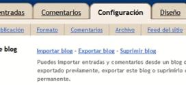 ¿Cómo crear copias de seguridad en Blogger?