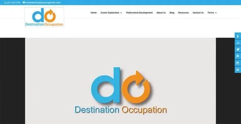 Destination Occupation Home Page