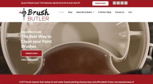 The Brush Butler Website