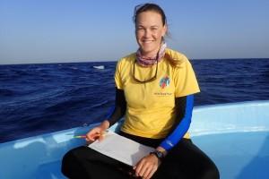 American Fisheries Society member Ivy Baremore
