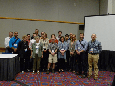 Participants in the otolith symposium.