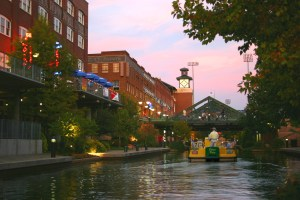 Bricktown Water Taxi. Credit: Greater Oklahoma City Chamber and Convention & Visitors Bureau