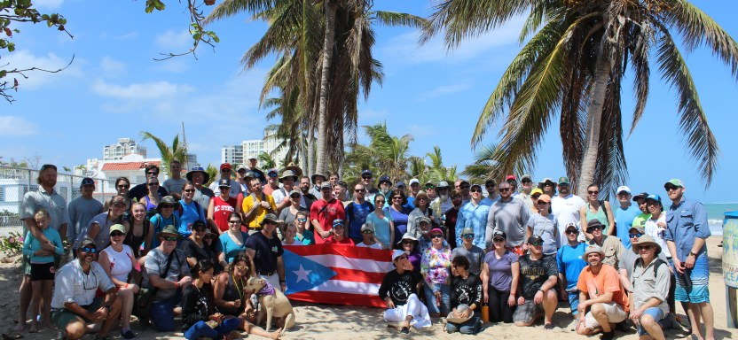 "<a href=""https://fisheries.org/2018/03/southern-division-conference-day-of-service-in-puerto-rico-on-march-8th/"">This is What Volunteerism Looks Like</a> slide"