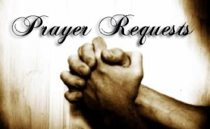Prayer Requests Graphic