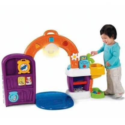 «Смейся и учись» Музыкальная интерактивная игрушка «Кухня» Fisher-Price на прокат