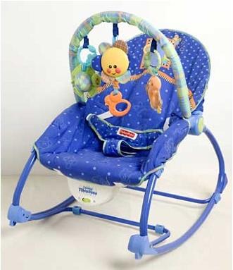 Кресло-качалка Занимательные колечки Fisher-Price напрокат