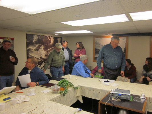 Indian Creek steering committee meeting in Fairbury, IL