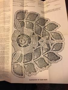 Vintage Laura Wheeler Thread Crochet Pattern Fish Filet Crochet