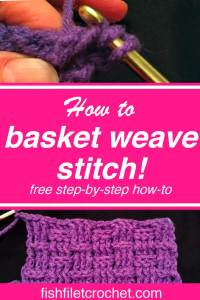 How to basket weave stitch V2