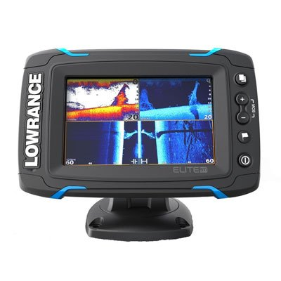 Lowrance Elite-5 Ti 000-12421-001 Fishfinder Chartplotter with Downscan