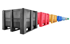 Robust plastic fish boxes and containers from Craemer
