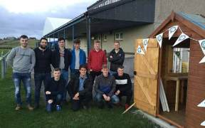 The Scottish Salmon Company support Back Football and Recreation Club