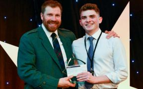 EDUCATION AWARD WIN IS JUST ACES