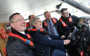 NEW INSHORE MUSSEL SURVEY BOAT LAUNCHED