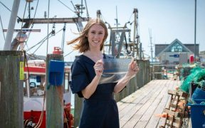 FISH WASTE USED FOR MAKING PLASTIC SUBSTITUTE WINS AWARD