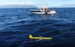 GLIDER DEPLOYED IN OCEAN RESEARCH