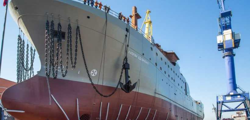 ADMIRALTY SHIPYARDS LAUNCHES
