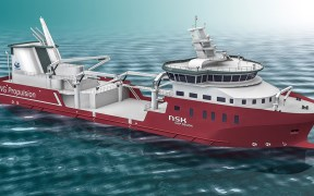 Seawater coolers to LNG-fuelled wellboat