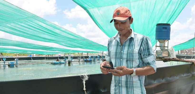 SHRIMP FARMERS UNLOCK GROWTH