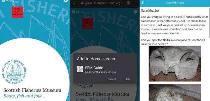 Scottish Museum present Brand New Web App