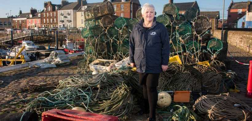 SCOTTISH SEAFOOD EXPORTERS HIT