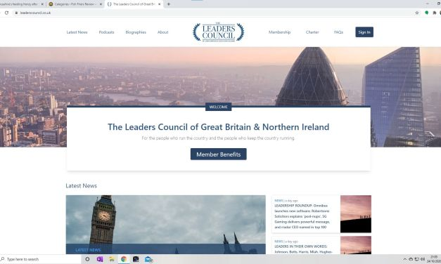 The Leaders Council  of Great BritAIn and NOrthern Ireland