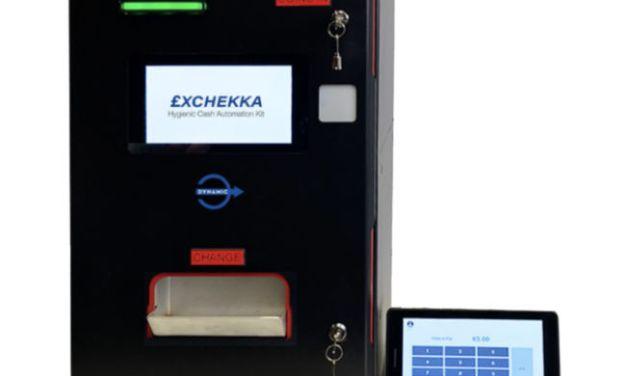 £XCHEKKA – Hygienic Cash Handling