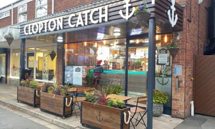 Another great 'Catch' for Johnson Reed