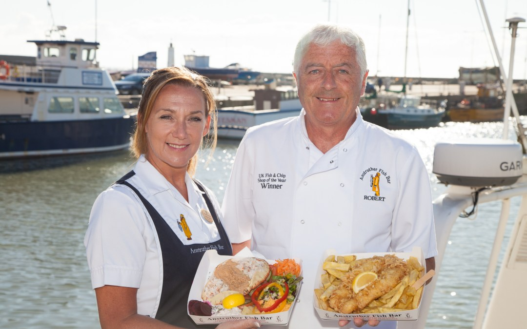 World's first MSC certified fish and chip shop celebrates 12 years of sustainable seafood