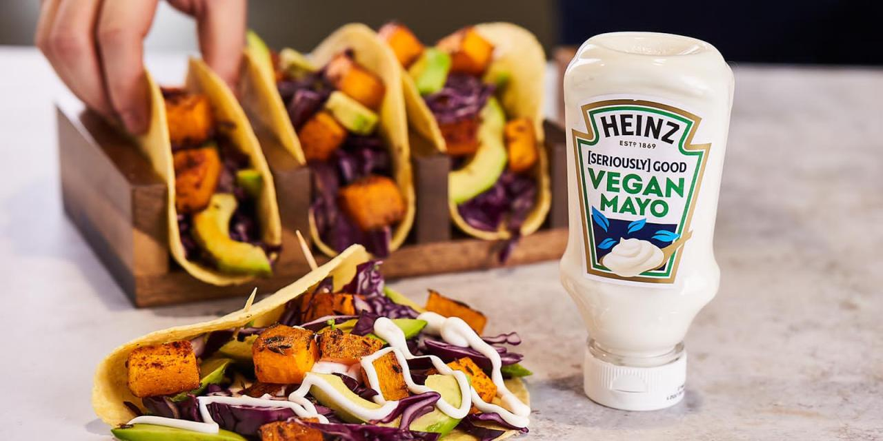 Kraft Heinz brings Heinz [Seriously] Good Vegan Mayo to foodservice
