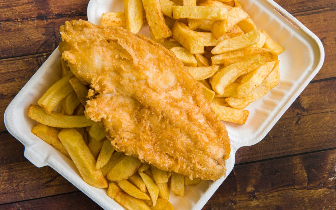BRITAIN WILL CELEBRATE THE LAST NIGHT OF LOCKDOWN WITH A CHIPPY TEA