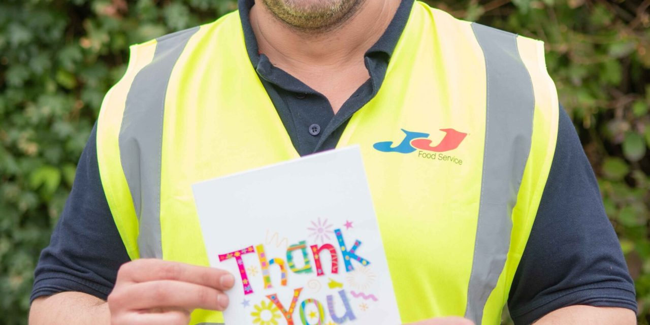 JJ Foodservice Launches Thank You Awards