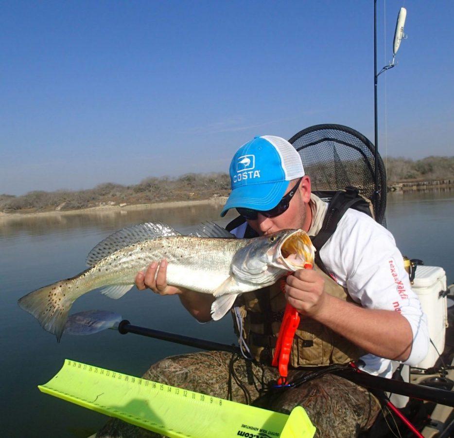 Upper laguna specklemonster texas fish game magazine for Texas fish and game magazine