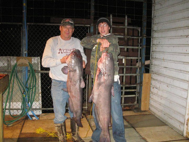 Father and Son Big Catch