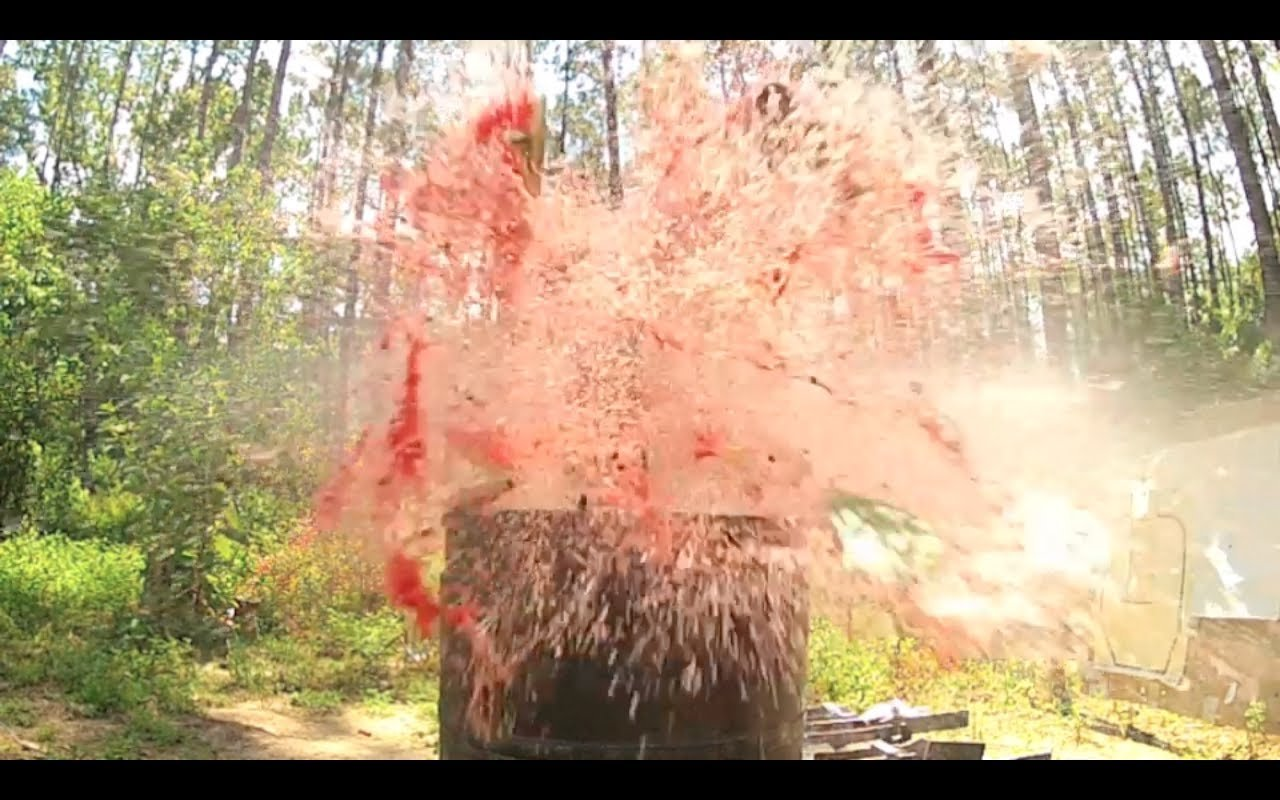 .458 SOCOM Watermelon Obliteration [video]
