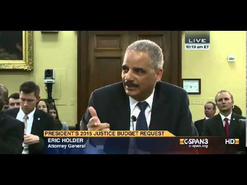Eric Holder Has an Idea He Wants to Explore About How to Make Guns 'More Safe'