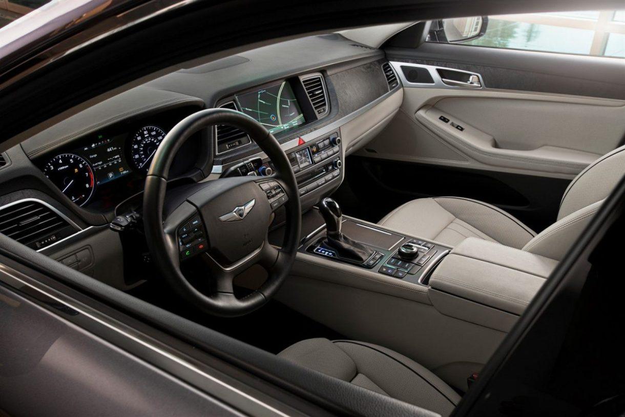 Best New Interior - 2015 Hyundai Genesis (this is the base)