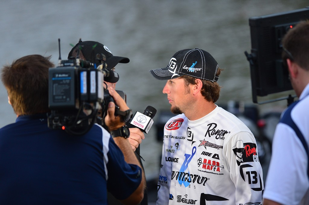 Youngest pro, Blaylock, hauled in more than 100 lbs. in the 3-day tournament.