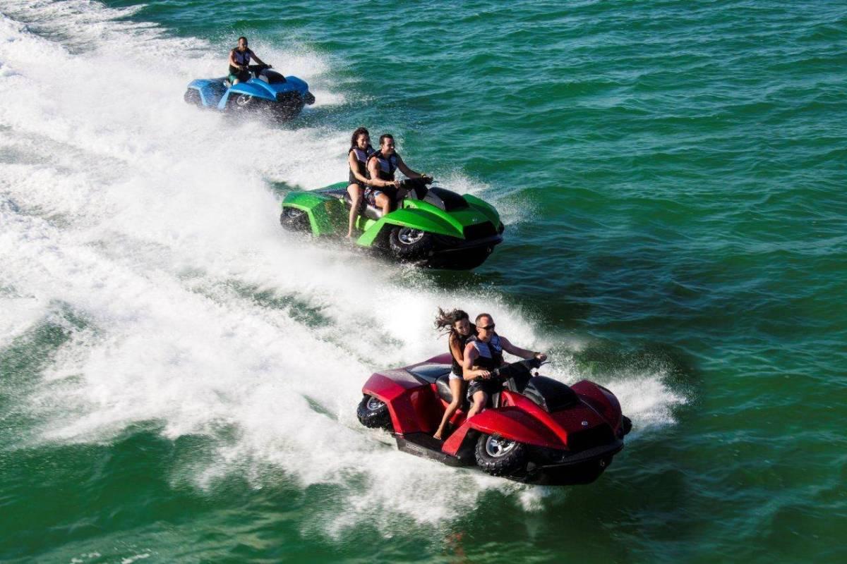 Quadski XL amphibious vehicles