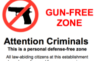 Dangerous Gun Free Zones