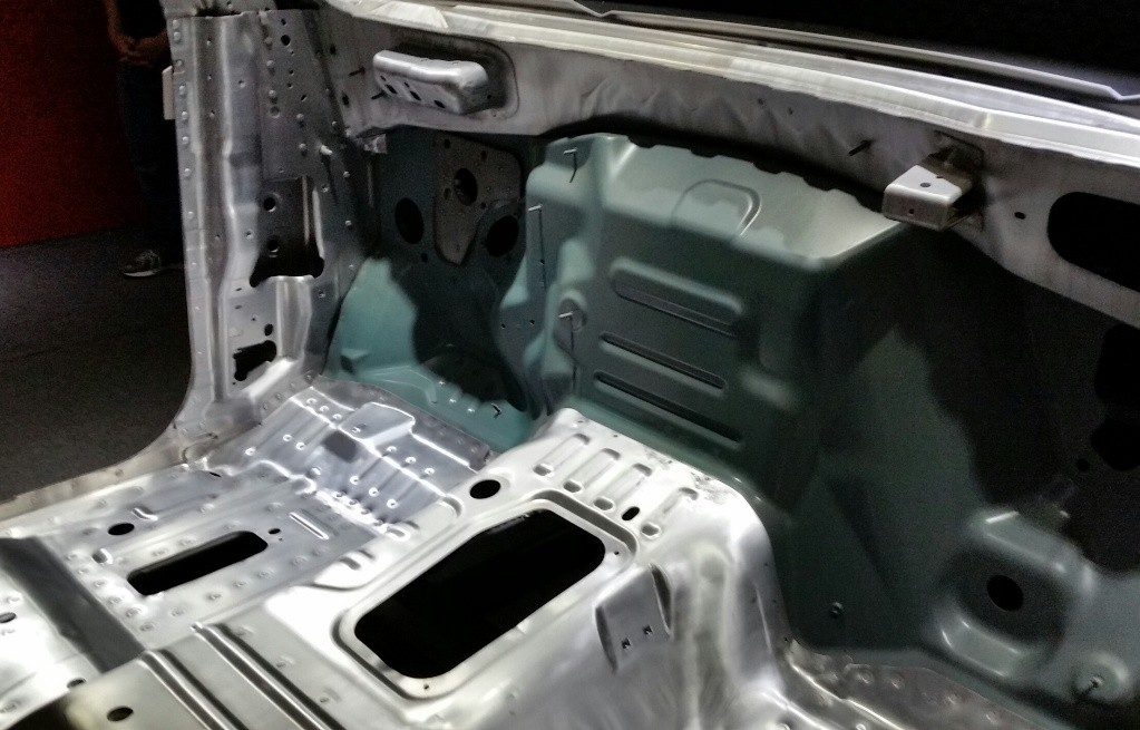 Aluminum and steel form the basis for the new F-150