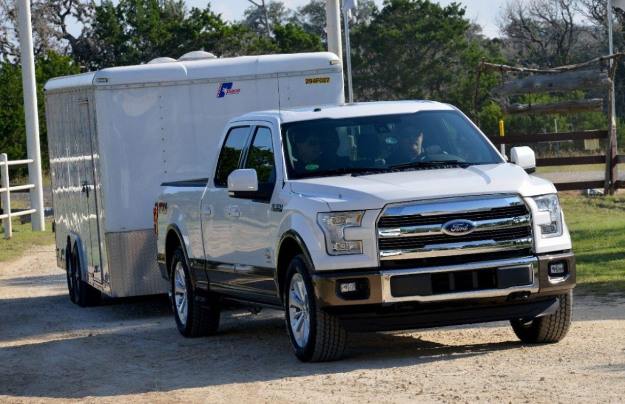 F-150 with 9,900 lb. load